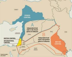 Conseguenze della Prima Guerra Mondiale sul Medio Oriente
